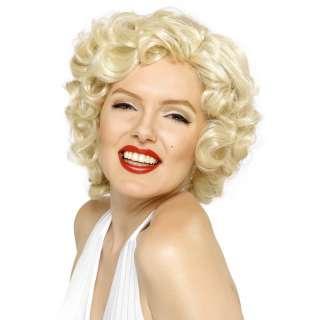 Marilyn Monroe Fancy Dress Blonde Bombshell Wig