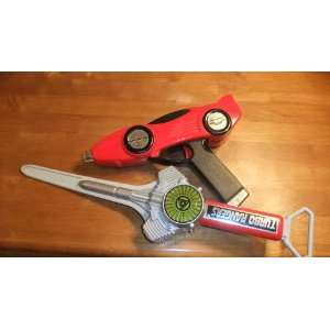 Power Rangers Turbo Auto Blaster and Turbo Blade: Toys