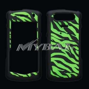 8110, 8120, 8130 Lightning Zebra Skin (Black) Phone Protector Case