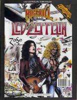 1991 RARE *LED ZEPPELIN* COMIC BOOK ROCK N ROLL MINT