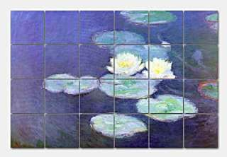 Water Lilies Detail #2 by Claude Monet   this beautiful mural is