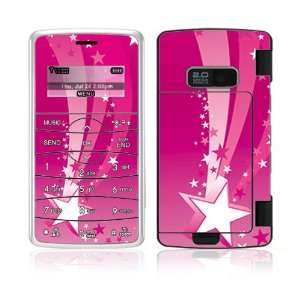 Pink Stars Decorative Skin Cover Decal Sticker for LG enV2