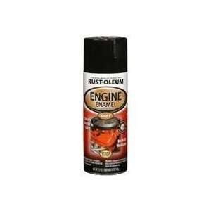 Automotive 12 Ounce 500 Degree Engine Enamel Spray Paint, Gloss Black