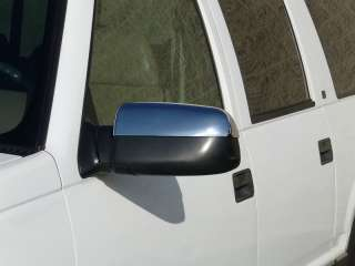88 98 CHEVY/GMC C/K PICKUP CHROME MIRROR COVERS BY TFP