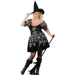 Novelty Halloween Plus Size Charmed Witch Costume Toys & Games