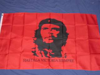 3X5 CHE GUEVARA FLAG RED REVOLUTION FLAGS NEW CUBA F604