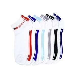 HS Women Fashion Ankle Socks Sporty Design (size 9 11) 6