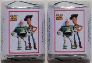 60 TOY STORY BIRTHDAY PARTY FAVORS CANDY WRAPPER LABELS