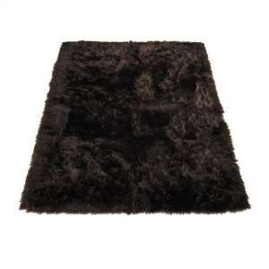 Bear  Bear Collection  Faux Fur Rug  3 foot X 5 foot Home