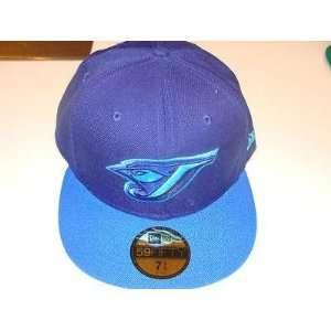 Toronto Blue Jays Blue on Blue New Era Hat Cap 7 3/8   Men