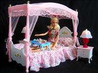 NEW Princess Bed/Bedroom Set for Barbie Dolls B19