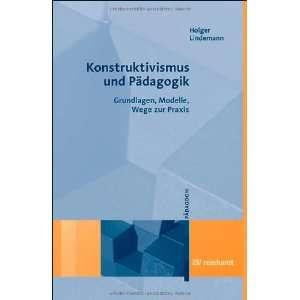 , Modelle, Wege zur Praxis (9783497018437) Holger Lindemann Books
