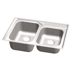 T203 GREAT LAKES TOP MOUNT STAINLESS STEEL SINK