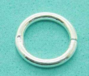 5Pcs Split rings Jump rings 925 Sterling Silver SMG26