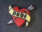 HOMIE DUDE BADASS GANGSTA EMBLEM EMBROIDERED PATCH