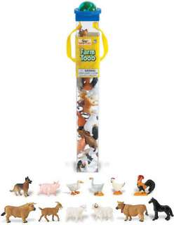 Farm Toob Safari Sheep Rooster Cow Goat Duck #695204