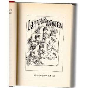 Little Women Louisa May Alcotts Books