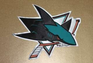 San Jose Sharks Hockey Big Crest Patch (11.8x9.8)
