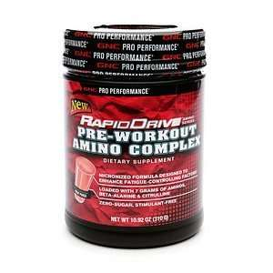 GNC Pro Performance RapidDrive Pre Workout Amino Complex, Fruit Punch