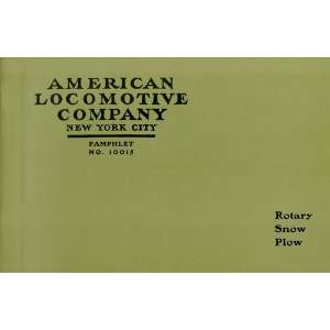 American Locomotive Company   Rotary Snow Plow, Code Word
