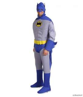 NWT~MENS Adult ~BATMAN Muscle Chest Deluxe~Halloween Costume sz S by