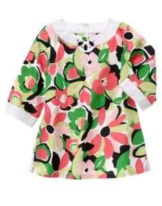 NWT Gymboree Palm Beach Paradise Floral Tunic Shirt Top Size 3,4,6,8,9
