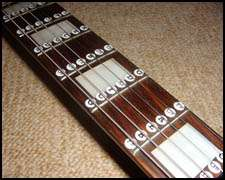 Guitar Fretboard Note Labels Stickers learn fret notes