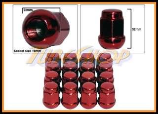 16 HONDA BALL RADIUS STOCK OEM WHEELS LUG NUTS 12X1.5 M12 1.5 CLOSED