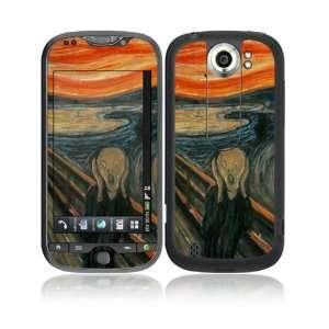 The Scream Decorative Skin Cover Decal Sticker for HTC