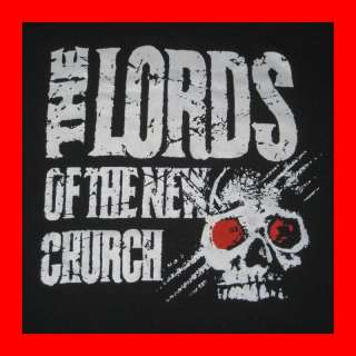 1985 LORDS OF THE NEW CHURCH VTG TOUR T SHIRT DEAD BOYS