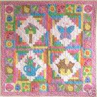 Pieces of Spring Quilt Pattern by Becky & Me
