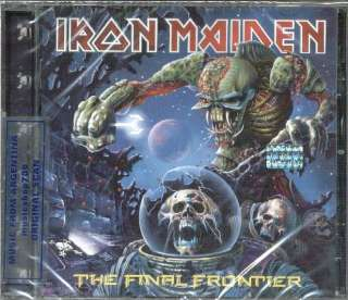 IRON MAIDEN THE FINAL FRONTIER SEALED CD NEW