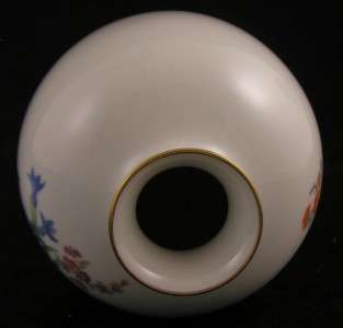 MEISSEN GERMAN PORCELAIN VASE HAND PAINTED FIRST Q. ART NOUVEAU