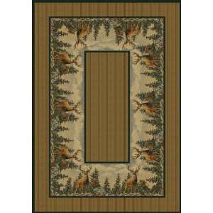 NEW Area Rugs Carpet Standing Proud Natural 8x11