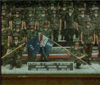 PLATOON D COMPANY 2 BATTALION Fort Benning, GA PHOTO!