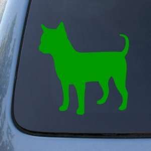 CHIHUAHUA SILHOUETTE   Dog   Vinyl Decal Sticker #1498  Vinyl Color