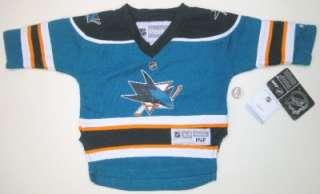 NHL Reebok San Jose Sharks Infant 12 24 Months Hockey Team Jersey New
