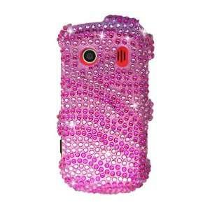 Pink Zebra Bling Design Hard Case Protector Cover +Free Lf Stylus Pen