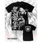 OAKLAND RAIDERS MARILYN MONROE MENS SHIRT 187 INC NFL CHICANO RAP 3XL