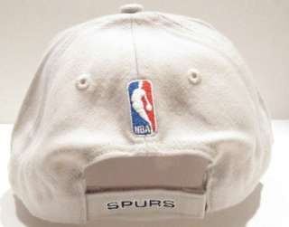 SAN ANTONIO SPURS TAN BLACK AUTHENTIC NBA EMBROIDERED REEBOK HAT NEW