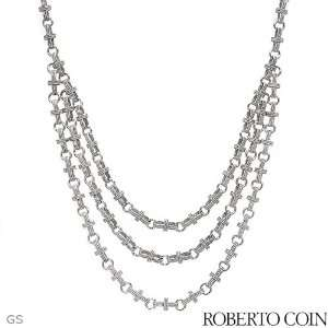 Roberto Coin 18K White Gold 0.01 CTW Ruby and 0.19 CTW Color G H VS1