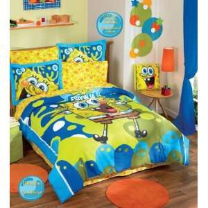 Bob Esponja Comforter Sheets Bedding Set Full Home