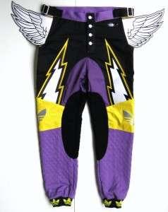 Adidas Jeremy Scott Wings Moto Pants L Originals ObyO Leather O27153