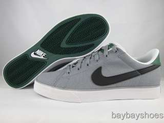 NIKE SWEET CLASSIC CANVAS STEALTH GRAY/BLACK/GORGE GREEN/WHITE MENS