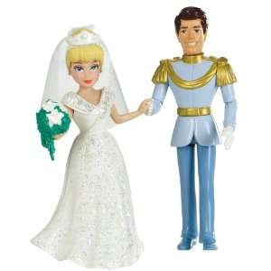 Disney Princess Fairytale Wedding Cinderella and Prince Charming Doll