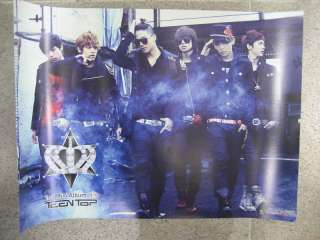 Teen Top / Its (2ND MINI ALBUM) OFFICIAL korea LIMITED PROMO POSTER
