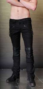 MENS LIP SERVICE DEAD NATION ARMOR JEANS PANTS 32 34 ROCK STAR GOTH