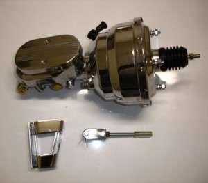 1967 1968 1969 camaro chrome brake booster master with disc disc prop