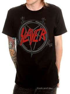 Slayer Classic Logo trash metal rock T Shirt XL 2XL 3XL 4XL NWT