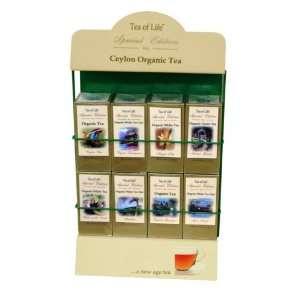 Tea Of Life Special Edition Pyramid Tea Bag Rack, 8 X 40 Count, 2.1